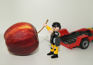 transportador de playmobil de apple