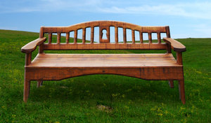 Lone Park bench